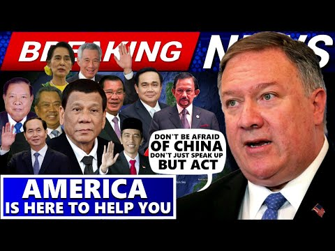 BREAKING NEWS SEC. MIKE POMPEO TELLS ASEAN AMERICA IS HERE TO HELP YOU | DON'T BE AFRAID OF CHINA