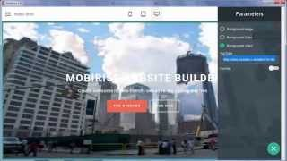 Background Video - Mobirise Mobile Website Creator v1.6