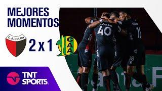 Resumen de Colón SF vs Aldosivi (2-1)   Zona A - F 4 - Copa LFP 2021