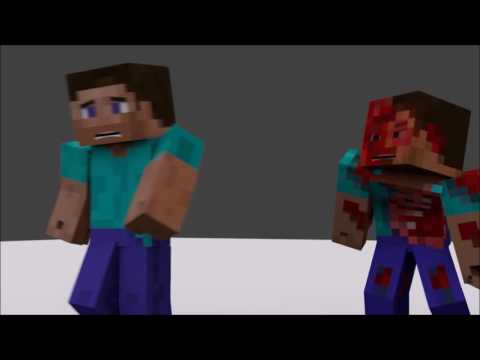 Steve vs Zombie | Project for School (Animation)