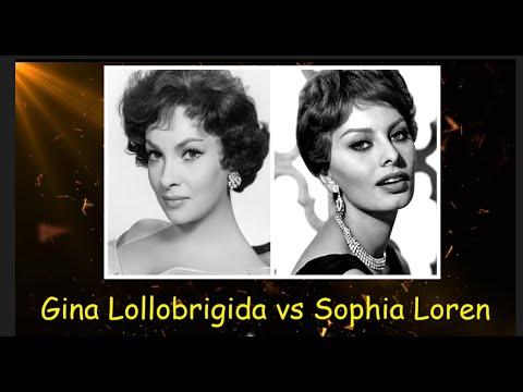 Gina Lollobrigida vs Sophia Loren  YouTube