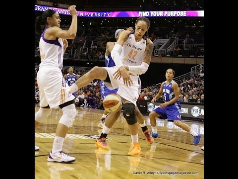 Phoenix Mercury 85 - 71 LYNX - Highlights - Conference Finals - 30 August