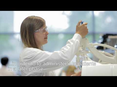Proud to be part of pharma - Alain-Geert, production