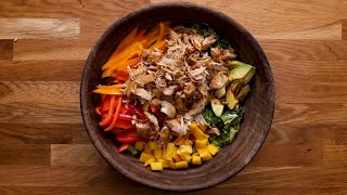 Chicken Teriyaki Salad So Good You'll Actually Eat It • Tasty