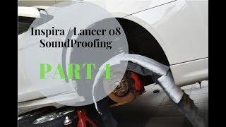 Inspira/Lancer 08 Sound Proofing - Part 4