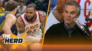 Colin Cowherd shares his theory on why the Cavaliers struggle in January | THE HERD