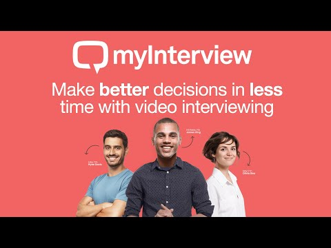 myInterview - Remote Interviewing