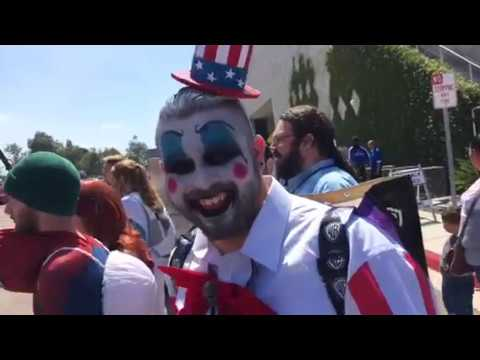Happy Uncle Sam At San Diego Comic Con #SDCC