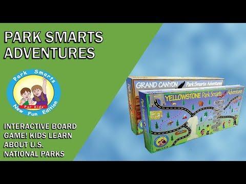 Park Smarts Adventures Board Games on National Parks