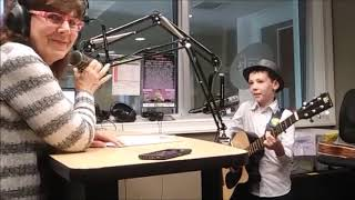 Interview on WQFS 90.9 FM with DJ Rebecca Kress - 8 year-old Finn Phoenix (6.24.19)