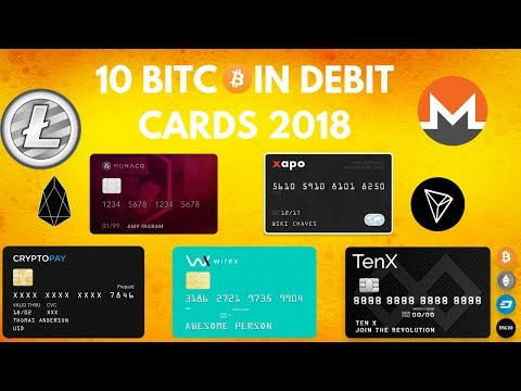 10 Bitcoin Debit Cards 2018