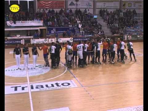 Hóquei Patins :: 01J :: Juventude de Viana - 5 x Sporting - 2 de 2013/2014