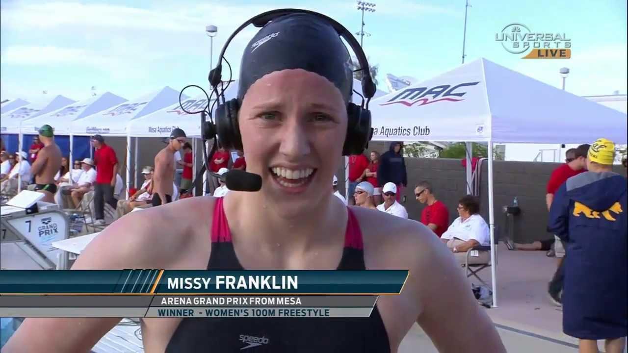 Missy Franklin In The News At Regis Jesuit High School Regis