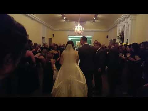 CHATEAU AT COINDRE HALL WEDDING FIRST DANCE  NOVEMBER 2019 DJ  MC FROM STAN WIEST MUSIC