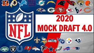 2020 NFL Mock Draft 4.0 - Full First Round - All Sports Central