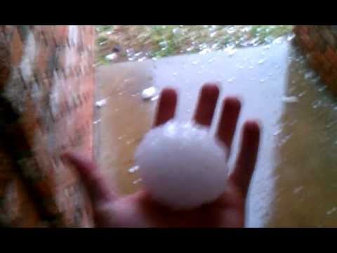 Hail from hell. Texas baby! Abilene, TX 04/24/2011
