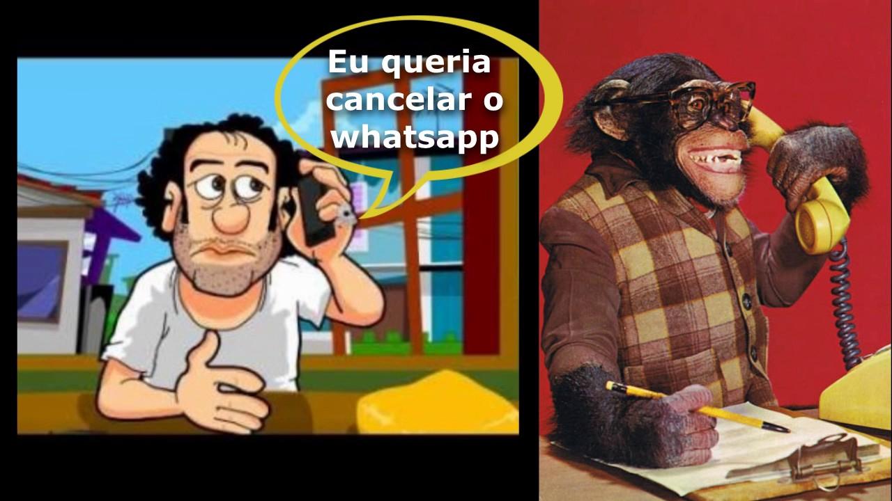 Audio engraçado: Baiano ligando pra oi pra pedir pra cancelar o WhatsApp.