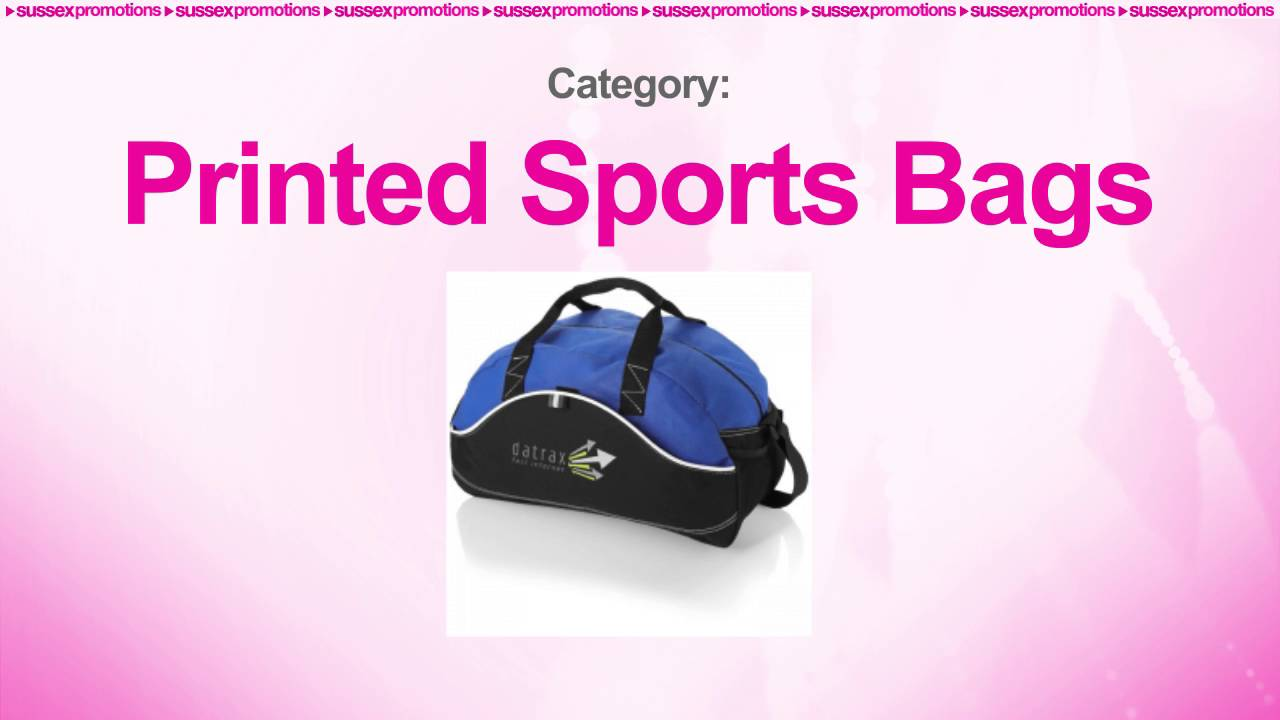 d26c9fbc9e4 Branded Hever Sports Holdall | Printed Sports Bags - YouTube