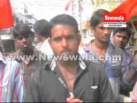 Bajrang Dal activists protested against Valentine Day ...