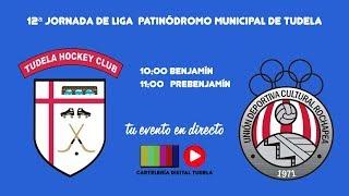 12ª Jornada de Liga Hockey Patinódromo municipal de Tudela
