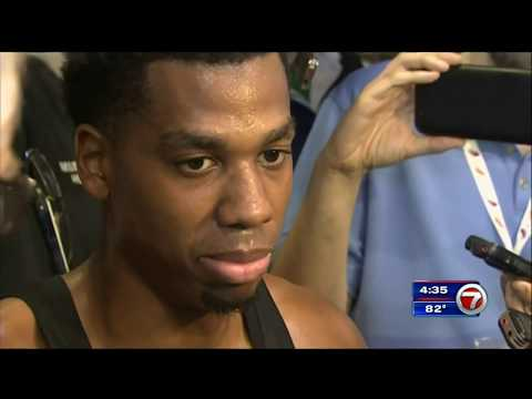 April 01, 2018 - WSVN - Hassan Whiteside fined by Miami Heat for Postgame Rant (Vs Brooklyn Nets)