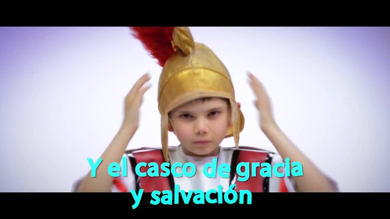 Cancion La Armadura De Dios Con Niños Youtube