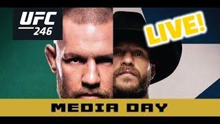 UFC 246 Media Day: Conor McGregor  (FULL)