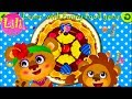 Kids Learn Colors Shapes Sizes and Words with cute Funny Food game by Mage. For baby or toddler !