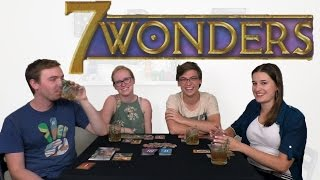 SEVEN WONDERS - Our Favorite Card Game