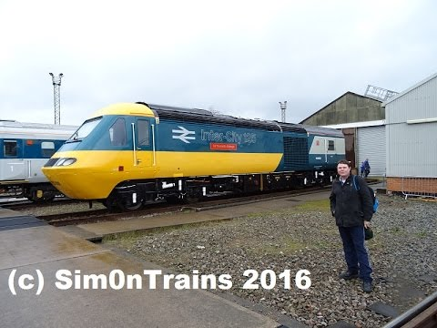 St. Phillips Marsh Open Day, celebrating 40 years of the HST (2nd May 2016)