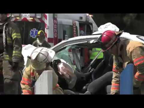 HEAD-ON car crash in Whitehall, PA 09/01/17