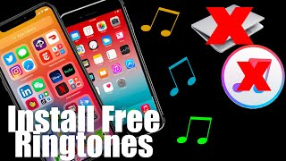 How To Install Free Ringtones For iPhone 11, 12, 8, iPhone SE No Computer or Jailbreak.