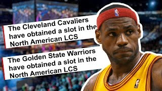 Why Are NBA Teams Joining The NA LCS?