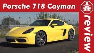 2016 Porsche 718 Cayman - In-Depth Review, Full Test, Test Drive