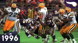 Favre & Moon Duel in the Dome - Packers vs. Vikings (Week 4, 1996) Classic Highlights