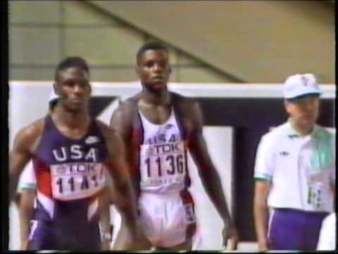 Carl Lewis WR 9.86s - 1991 World Champs Tokyo
