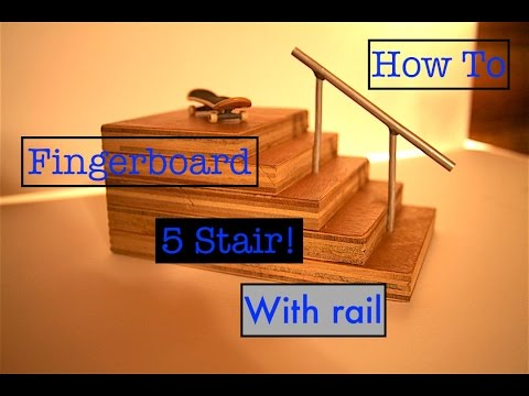 how to make a stair case