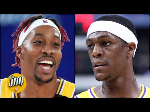 Could the bubble playoffs impact Rajon Rondo's & Dwight Howard's legacies?   The Jump
