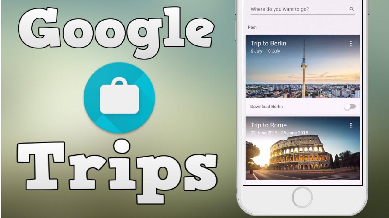 Google Trips - iOS 9 app review