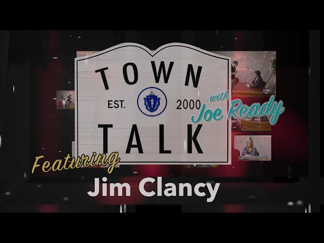 Town Talk featuring Jim Clancy - April 22, 2019