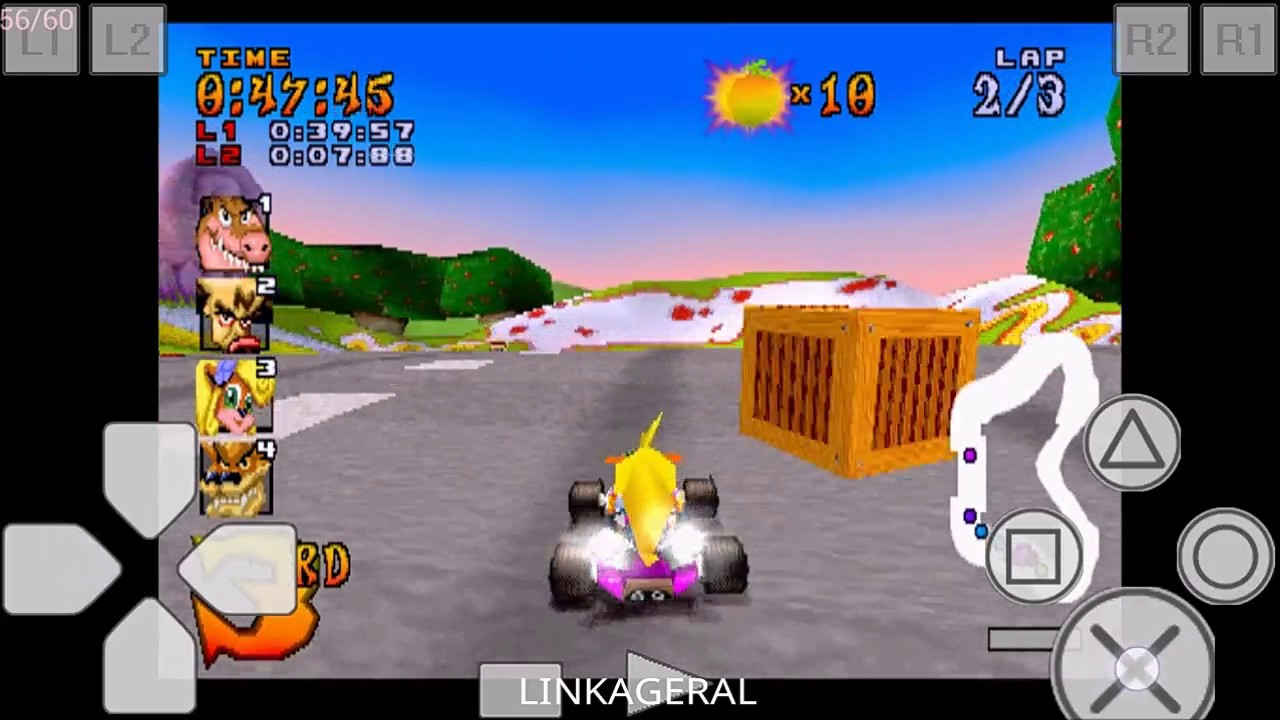 crash team racing ps1 download- for android epsxe