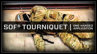 One-Handed SOF® Tactical Tourniquet Application