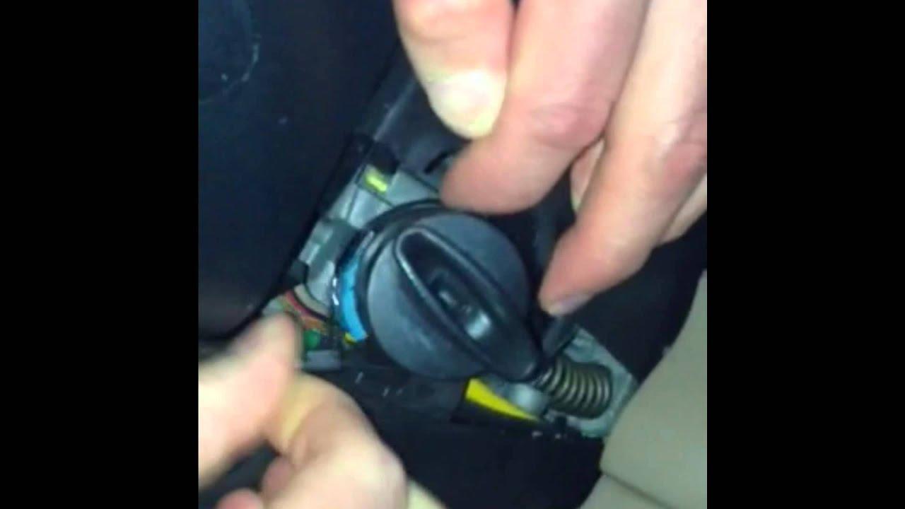 ford explorer door ajar dinger fix  key removed