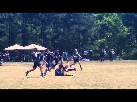 Southern Pines Men's RFC VS Charlotte Barbarians Highlight Video!!