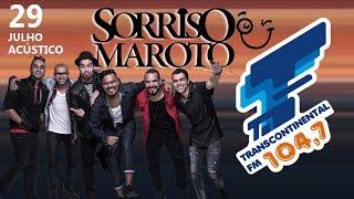 Baixar Acústico Transcontinental FM 104,7 - Sorriso Maroto Part. Thiago Martins - Show Completo