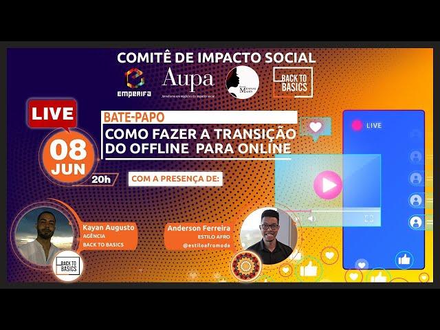 #LIVE: Como fazer a transição do Offline para Online