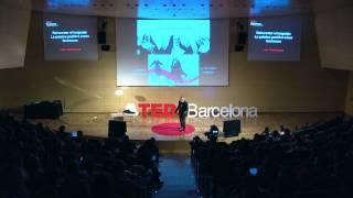 Reinventar el lenguaje - la palabra positiva como fenómeno: Luis Castellanos at TEDxBarcelona