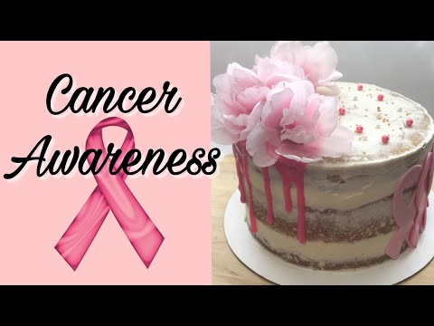 Breast Cancer Awareness Cake Dedicated To An Angel