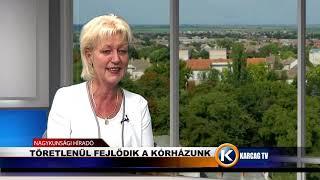 Stúdióbeszélgetés Nagyné László Erzsébet