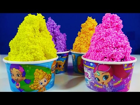Thumbnail: Shimmer & Shine Bubble Guppies Cup Foam Clay Surprise Toys Disney Princess Shopkins MLP
